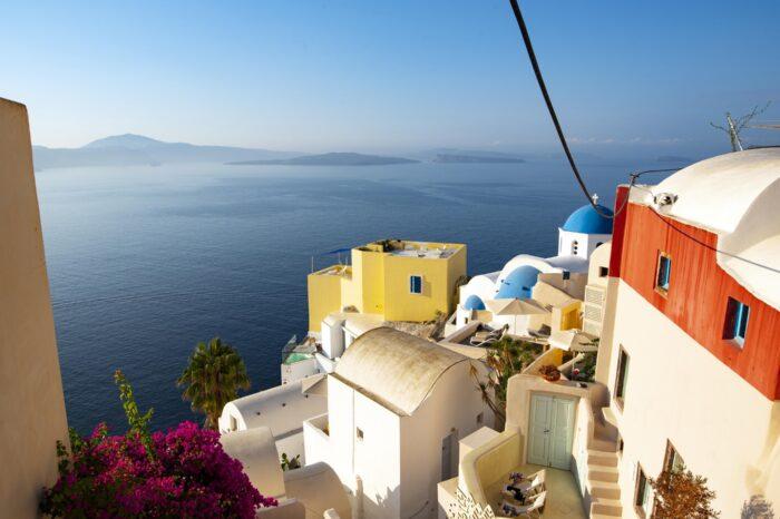 Почивка на Санторини, Гърция